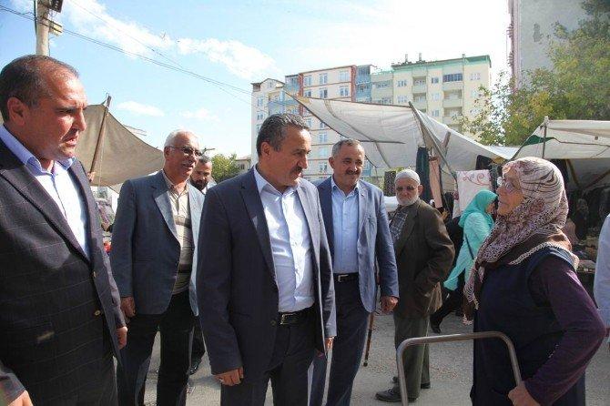 Başkan Tutal, Pazar Esnafıyla Buluştu
