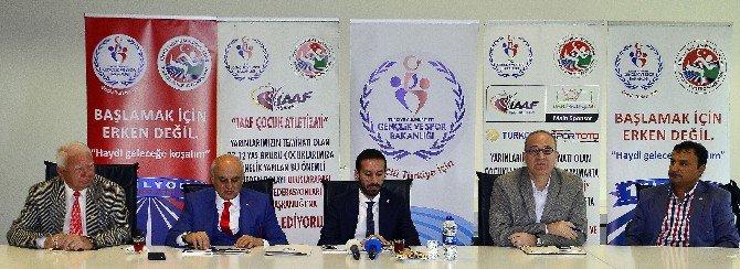 Taf'tan 'Çocuk Atletizmi' Projesi