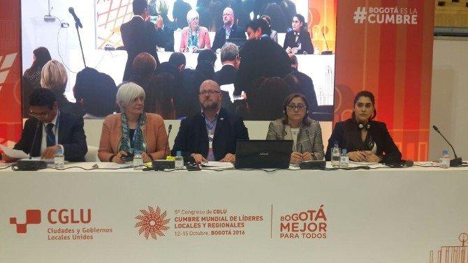 Başkan Fatma Şahin, 5. Uclg Kongresi Dünya Yerel Ve Bölgesel Liderler Zirvesine Katıldı