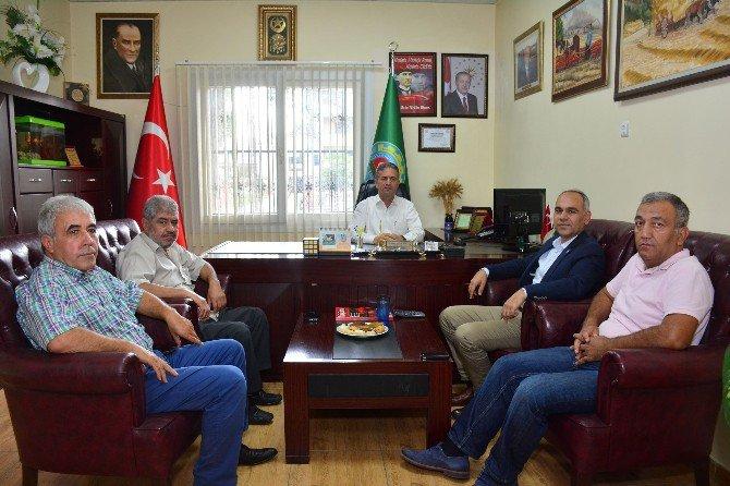 Ak Parti Teşkilatından Yüreğir Ziraat Odası'na Ziyaret