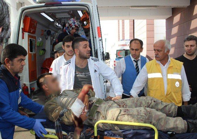 Adıyaman'da Teröristlerle Askerler Arasında Çatışma