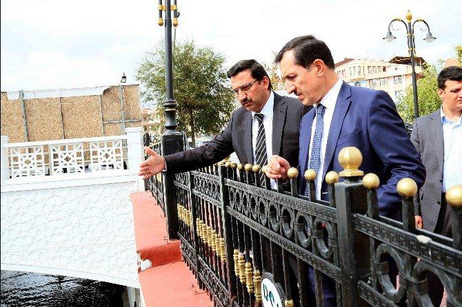 Ak Partili Milletvekili İşler Gümüşdere'yi Gezdi