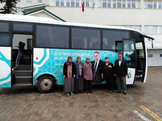 Alaşehir Belediyesinden Gazilere Bursa Gezisi