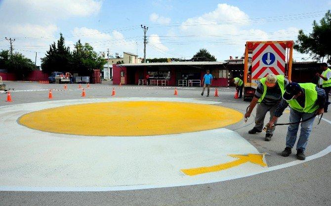 Kepez'de Okul Bahçeleri Renkleniyor