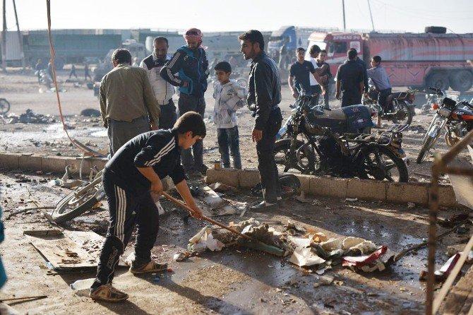 Daeş'in İntihar Saldırısının Boyutları Gün Aydınlanınca Ortaya Çıktı