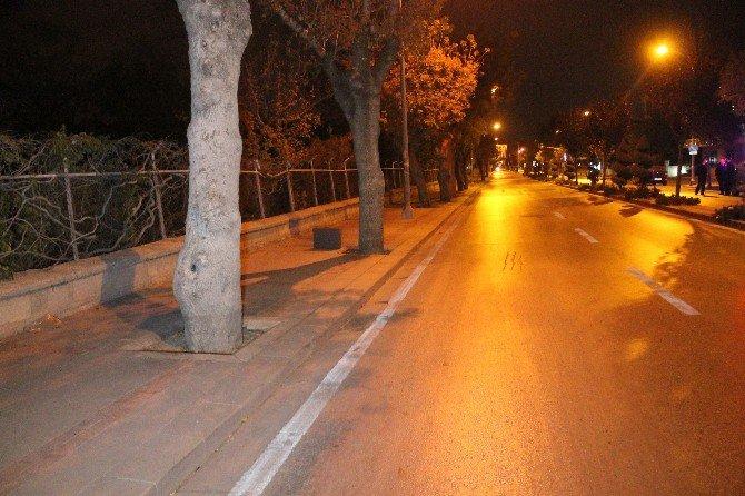 Konya'da Şüpheli Çanta Fünye İle Patlatıldı