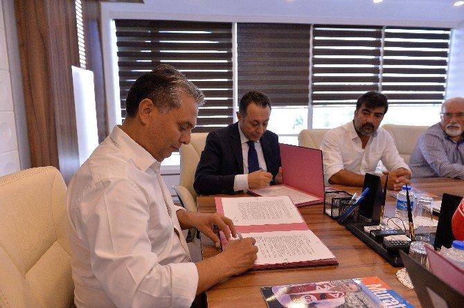 Antalyaspor Derneği Ve Muratpaşa Belediyesi İş Birliği Protokolü İmzaladı