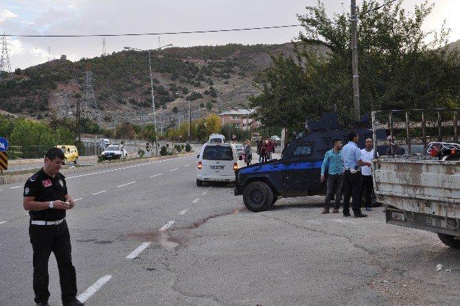 Tunceli'de 1 İmamın Öldüğü Kaza Mobese Kamerasında