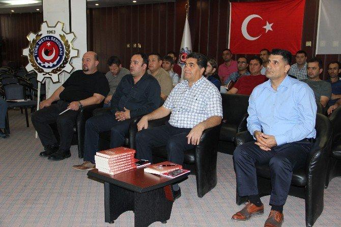 Türk Metal Sen'in İşyeri Temsilcileri Eğitime Alındı