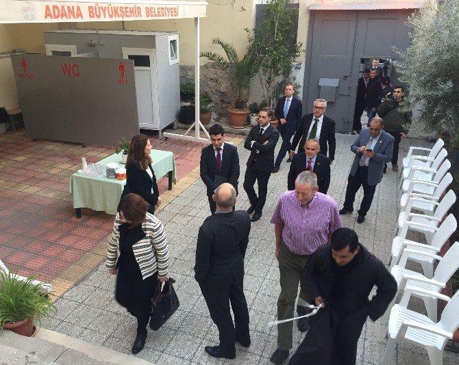 Ab Büyükelçileri Bebekli Kilise'yi Ziyaret Etti