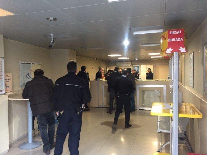 Bursa'da Ptt Şubesine Silahlı Soygun
