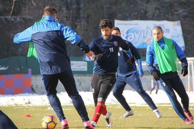 Karabükspor'da Alanyaspor Hazırlıkları Sürüyor