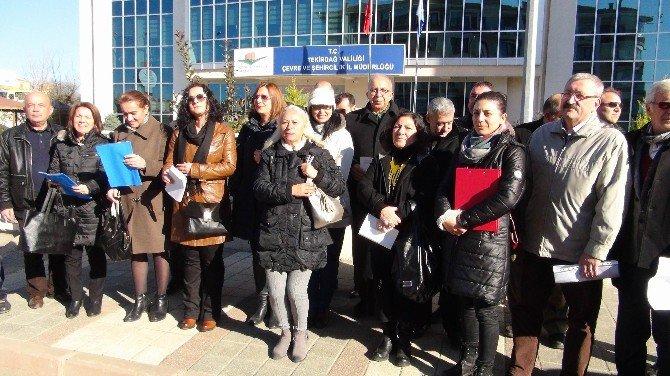 Stk'lar Çerkezköy'de Yapılması Planlanan Termik Santrale İtiraz Etti