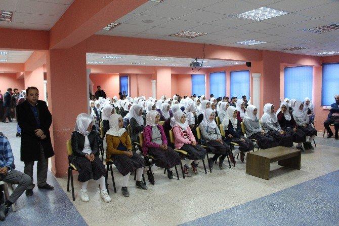Samsat'ta Öğrencilere Hijyen Eğitimi Verildi
