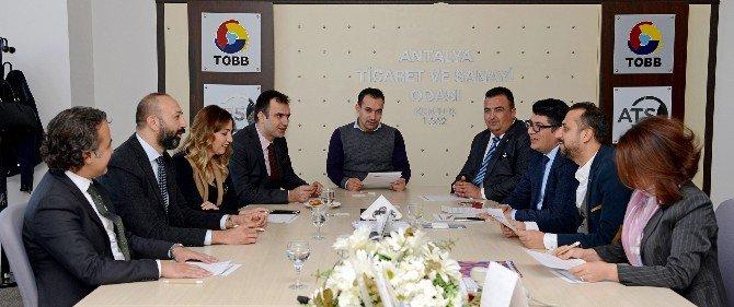 Antalya'da İş Dünyasından Tl Desteği