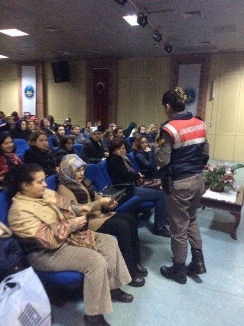 Jandarma; Kadın Ve Çocuklara Seminer Verdi