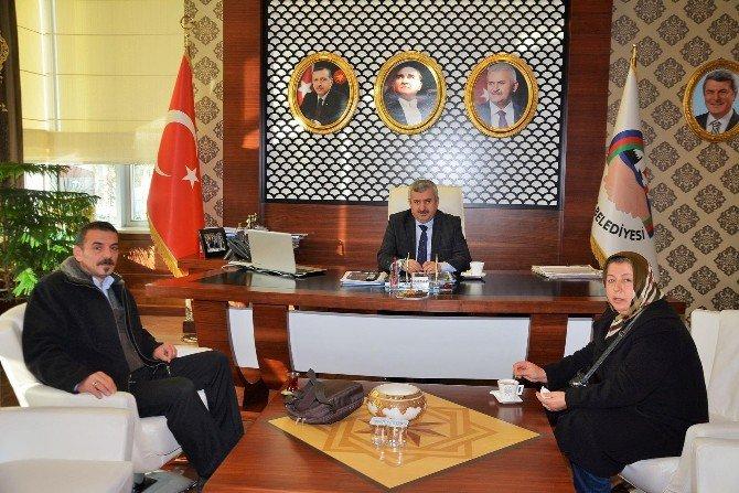 Başkan Baran, Kocaeli Anadolu İlleri Derneğini Ağırladı