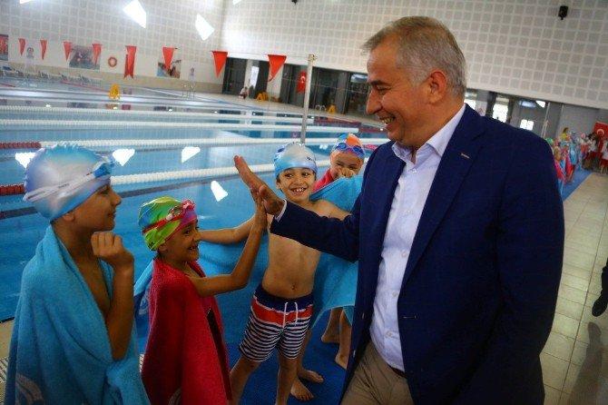 Acıpayam'a Yüzme Havuzu Müjdesi