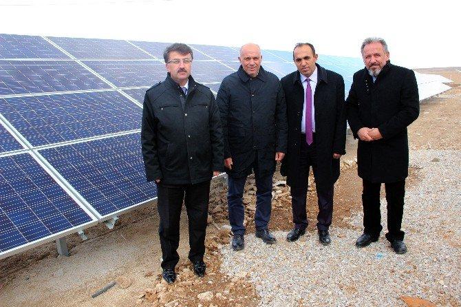 Karaman Belediyesinin Güneş Enerjisi Santralinde Elektrik Üretimi Başladı