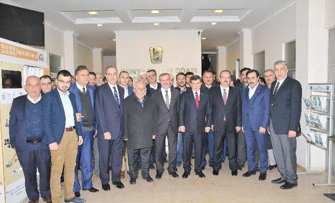 Ahmet Davutoğlu'ndan Kso'ya Ziyaret