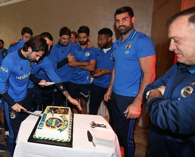 Hasan Ali Kaldırım'a Sürpriz Doğum Günü