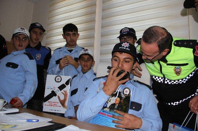 Fethiye'de Engelli Öğrenciler Polis Oldu
