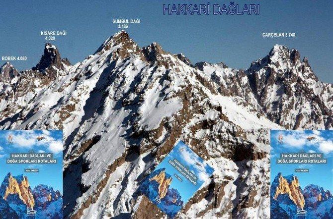 Hakkari'nin Dağları Ve Doğa Sporları Rotası Kitabı Çıktı