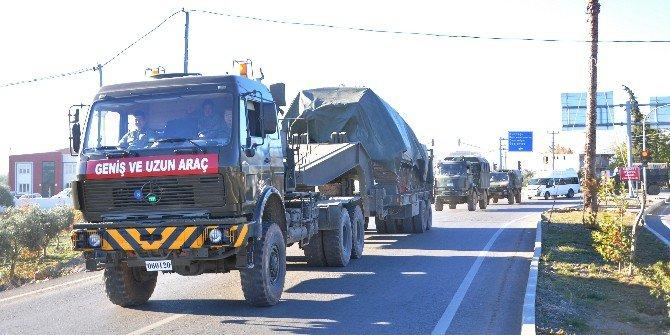 Maltepe'den Gaziantep'e Askeri Sevkıyat Sürüyor