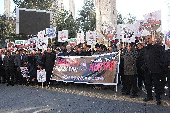 Bingöl'de Halep İçin Yardım Kampanyası Başlatıldı