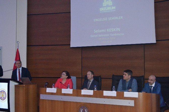 """Erzurum'da """"Eğitimde Erişilebilirlik"""" Paneli"""