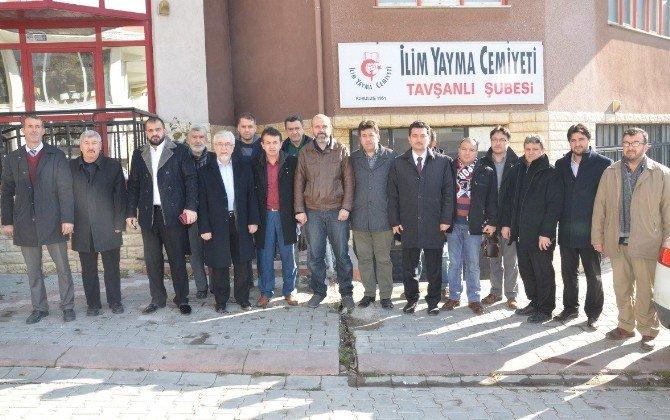 Stk'lar Cumhurbaşkanı Erdoğan'ı Tavşanlı'ya Davet Etti