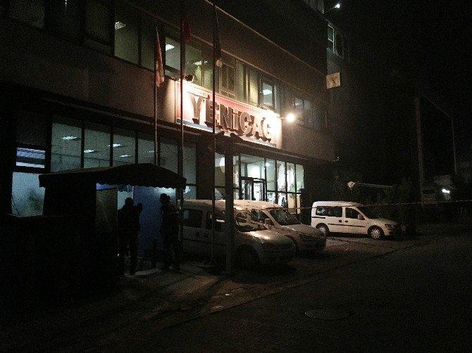 Yeniçağ Gazetesine Saldırı Anı Kamerada