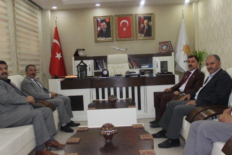 Rektör Karabulut'tan Başkan Aydın'a hayırlı Olsun Ziyareti