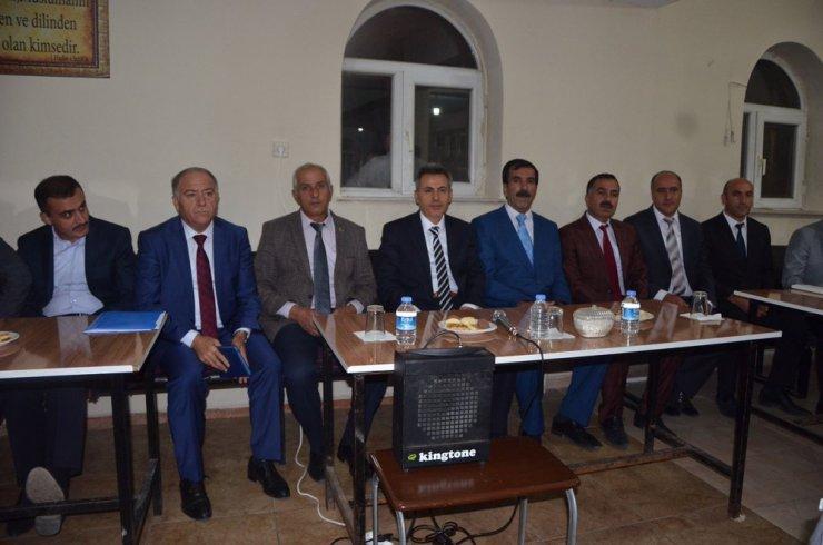 Vali Elban vatandaşlarla bir araya geldi