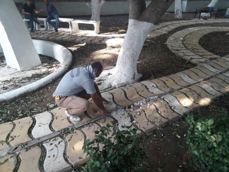 Akdeniz Belediyesi, Sanat Parkında yenileme çalışmaları başlattı