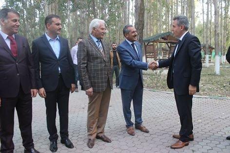 Vali Elban, Belediye Başkanları ile bir araya geldi