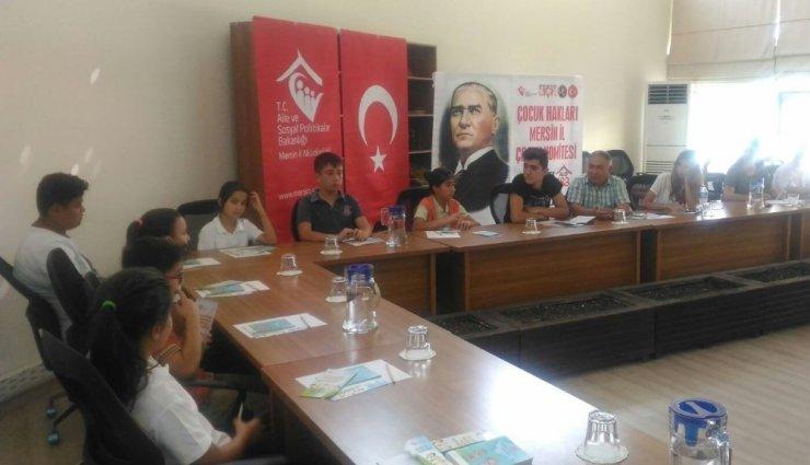 Mersin Çocuk Hakları Komitesi toplandı
