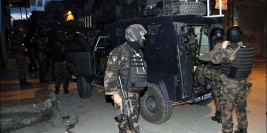 Gaziantep'te terör operasyonunda 16 gözaltı