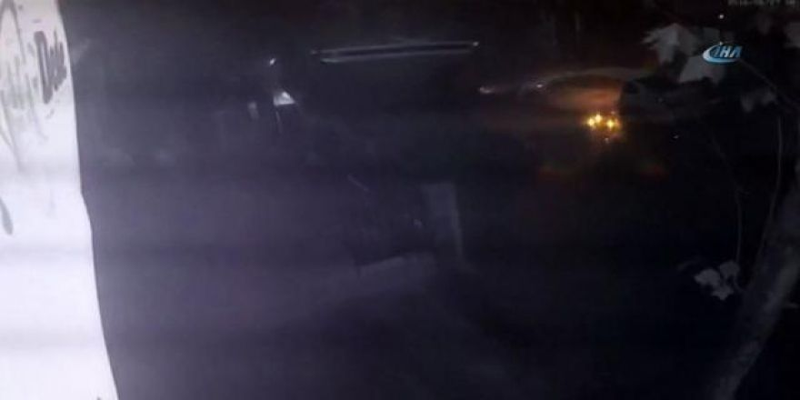 Otomobil minibüse böyle çarptı: 6 yaralı