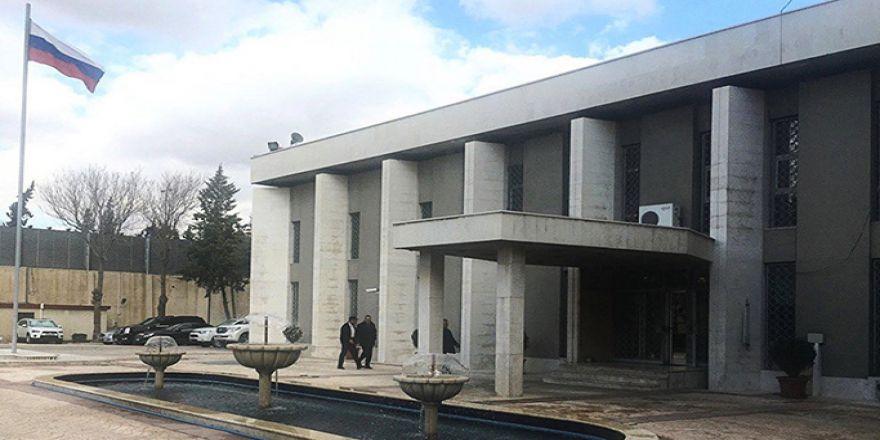Rusya'nın Şam büyükelçiliğine roketli saldırı