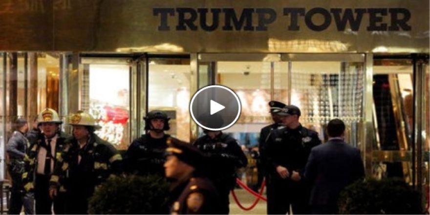Trump'ın konutunda bomba paniği