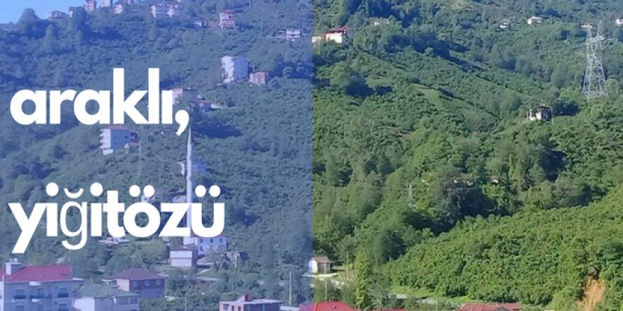 Araklı Yiğitözü Köyü Videosu