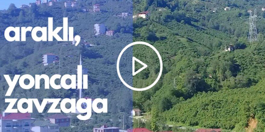 Araklı Yoncalı Köyü Videosu