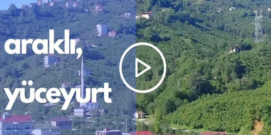 Araklı Yüceyurt Köyü Videosu