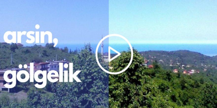 Arsin Gölgelik Köyü Videosu