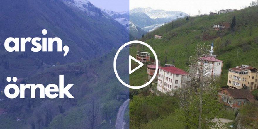 Arsin Örnek Köyü Videosu