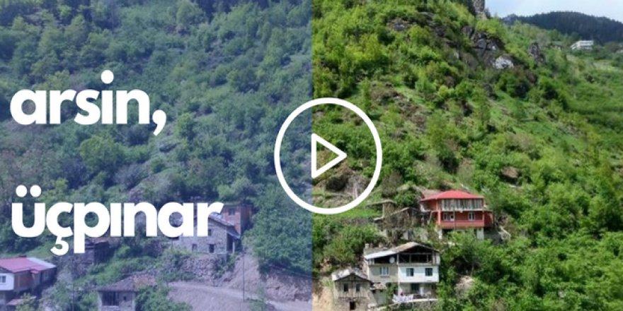 Arsin Üçpınar Köyü Videosu