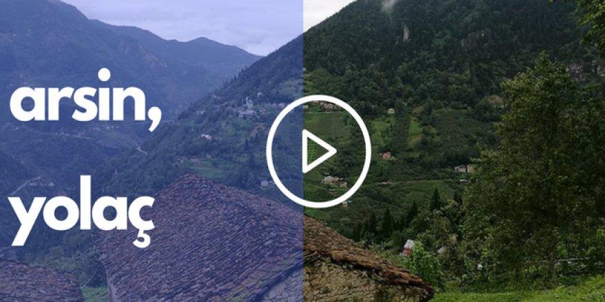 Arsin Yolaç Köyü Videosu
