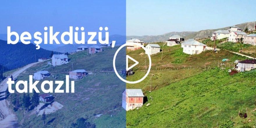 Beşikdüzü Takazlı Köyü Videosu