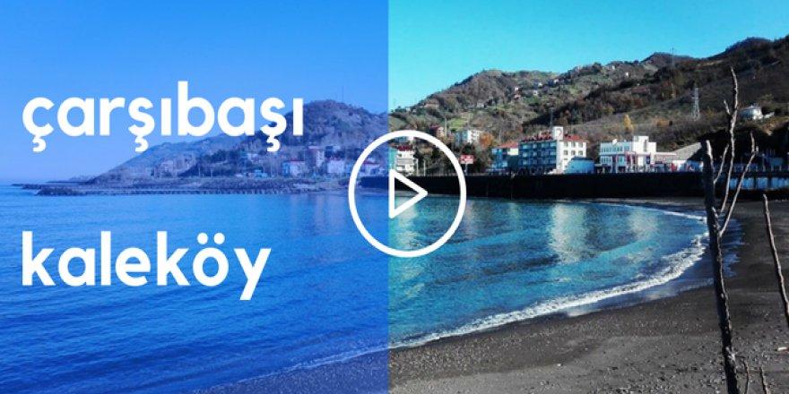 Çarşıbaşı Kaleköy Videosu